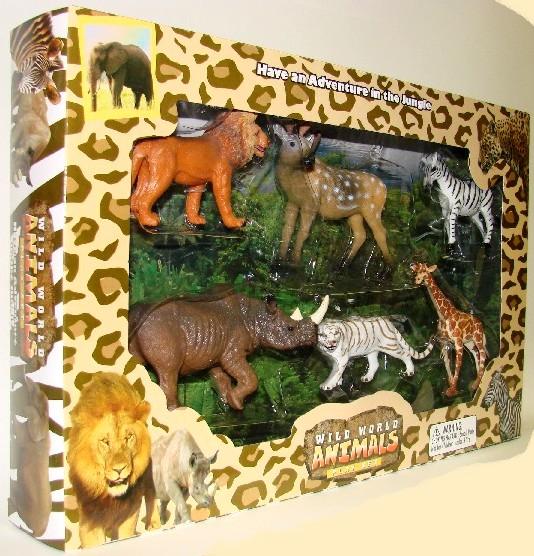 Wild World Animals (6 diff/window-box) (D)<!-- _Disc_ --> #LNT94597