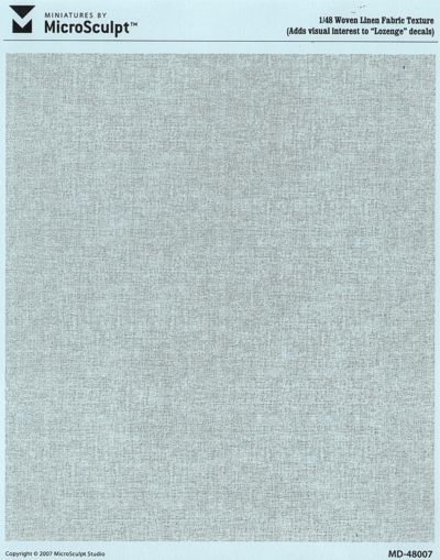 Woven Linen Printed Frabric Texture (Re-Issue) #MSC48007