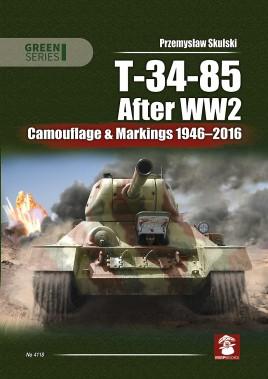 T-34-85 After WW2 Camouflage & Markings 1946-2016 #MMP1654