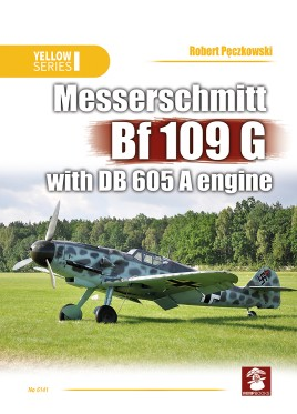 Messerschmitt Bf.109 G with DB 605 A engine #MMP1685