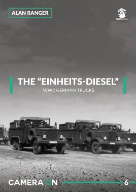"The ""Einheits-diesel"" WW2 German Trucks  #MMP1838"