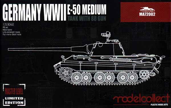 E-50 Medium Tank with 88mm gun Germany WWII #MDO72002