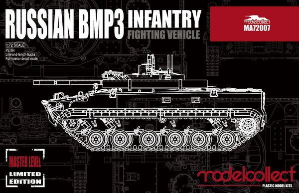Soviet BMP-3 Infantry Fighting Vehicle #MDO72007