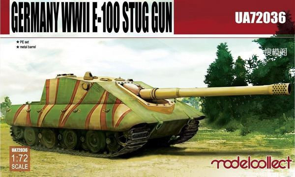 E-100 Supper Heavy Jagdpanther Germany WWII #MDO72036