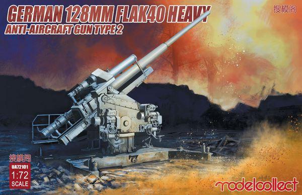 128mm Flak 40 Heavy Anti-Aircraft Gun Type 2 #MDO72101
