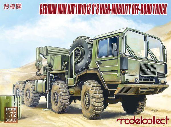 German MAN KAT1M1013 8*8 HIGH-Mobility off-road truck #MDO72121