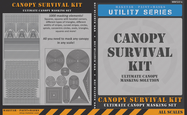 Canopy Survival Kit - Ultimate Canopy Masking #MMS014K