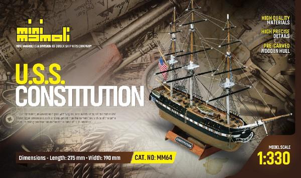 U.S.S. Constitution, Mini-Kit #MOL64