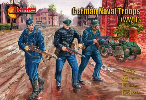 WWII German Naval Troops (40) #MAF72112