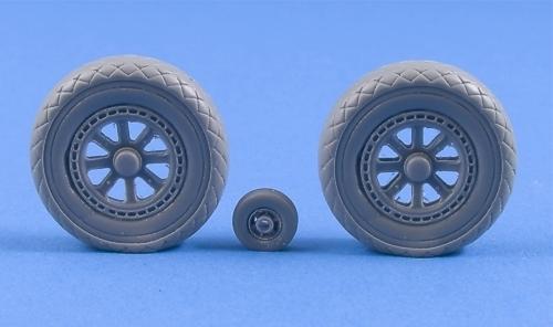 Grumman TBF/TBM Avenger Weighted Resin Wheels #MST32008