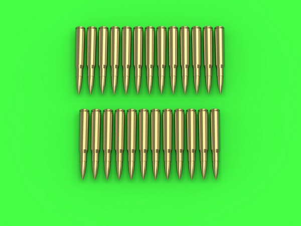 M1919 Browning .30 caliber (7.62mm) - cartridges (25pcs) #MGM16004