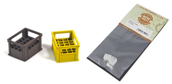 Plastic Crates for Bottles (2) #MAT35042