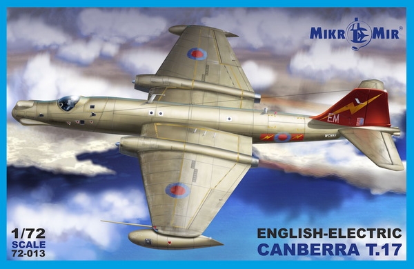 BAC/EE Canberra T.17 #MCK72013