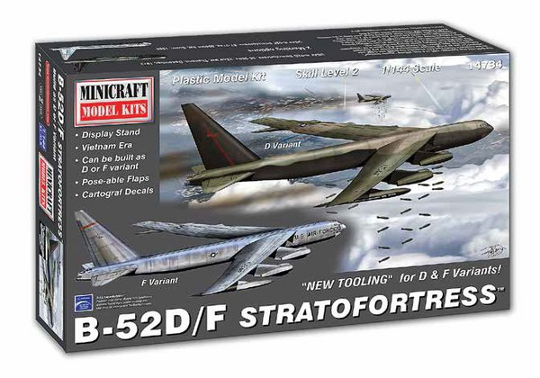 B-52D/F Stratofortress Aircraft Vietnam (New Tooling for D/F Version) #MMI14734