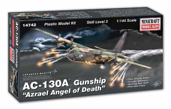 AC-130A Azrael Angel of Death Gunship Aircraft #MMI14742