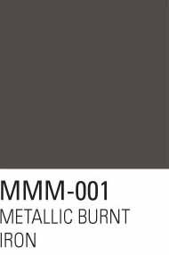 Metallic Burnt Iron 1 #MMM001