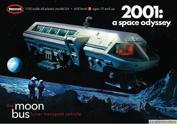2001 Space Odyssey: Moon Bus (Approx. 10