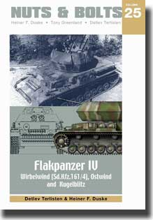 Nuts & Bolts Vol. 25 - Flakpanzer IV Wirbelwind, Ostwind and Kugelblitz #NB025