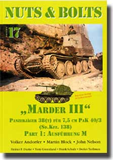 Marder III Panzerjager 38(t) Ausf. M #NB017