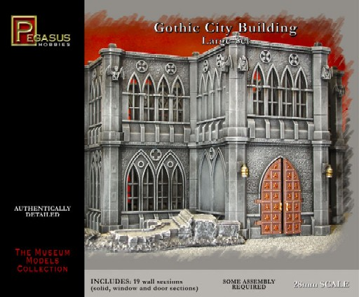 Gothic City Building Large Set #PGH4923