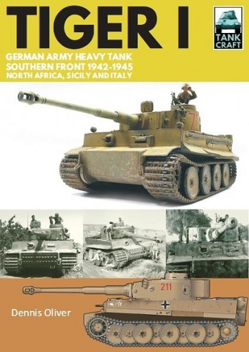Tiger I German Army Heavy Tank, Southern Front, North Africa, Sicily and Italy, 1942–1945 #CAS9773