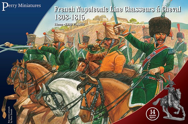 French Napoleonic Line Chasseurs a Cheval 1808-1815 (14 Mtd) #PEY208