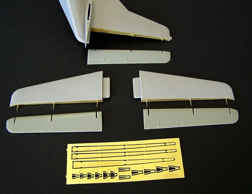 Fairchild C-123B Provider separate tail surfaces #PMAL7012