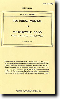 Technical Manual Motorcycle, Harley Davidson #PP004