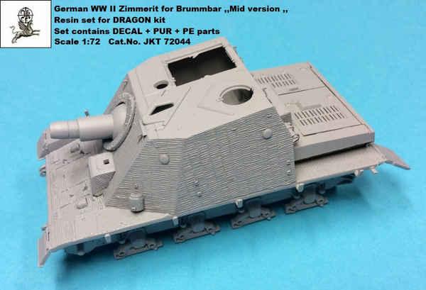 Zimmerit for Brummbar Sd.Kfz.166  'Mid Version' #JKT72044