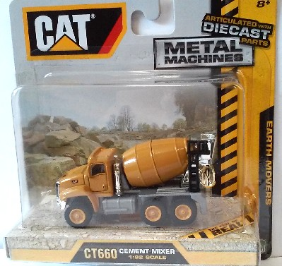 Caterpillar CT660 Cement Mixer (Die Cast) #RLT39515