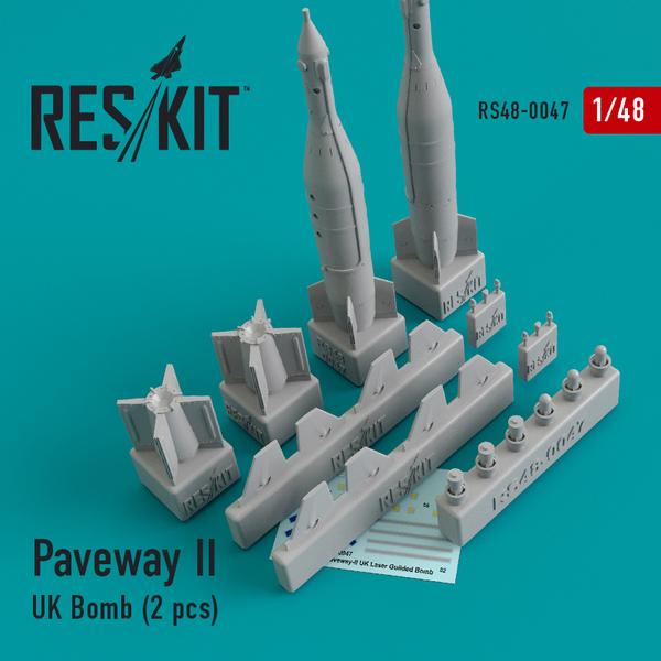 Paveway-II (UK) Bomb (2 pcs) #RS48-0047