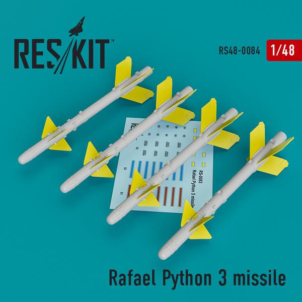 Rafael Python 3 missile (4 pcs) #RS48-0084
