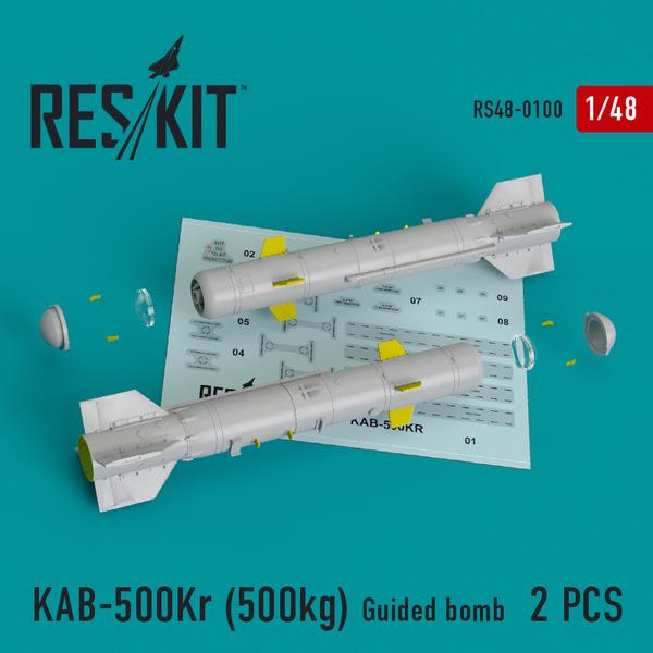 KAB-500Kr (500kg) Guided bomb (2 pcs) #RS48-0100