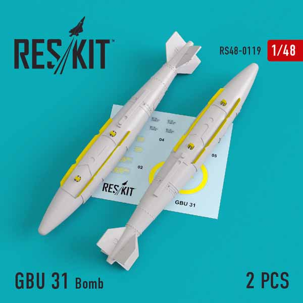 GBU 31 Bomb (2 pcs) #RS48-0119