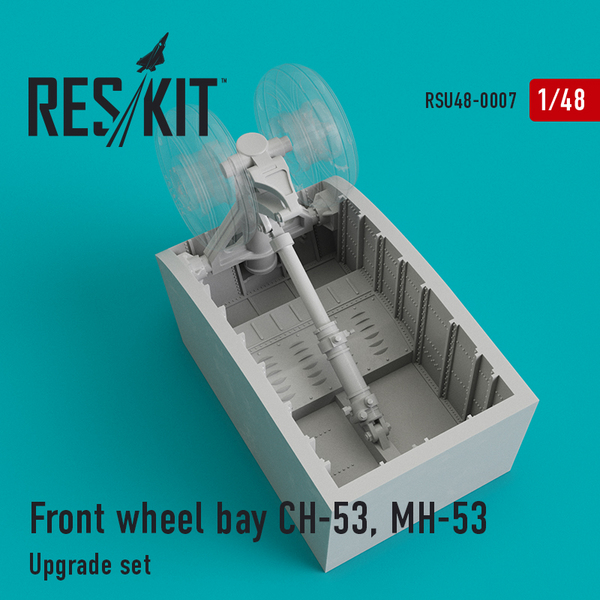 Front wheel bay Sikorsky CH-53, MH-53 #RSU48-0007