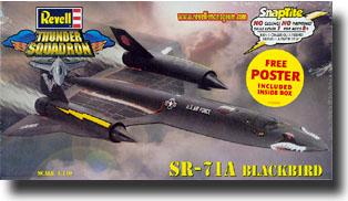 SNAP SR-71A Blackbird #RMX1187