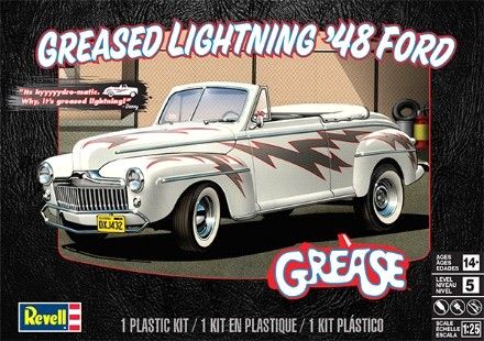 Greased Lightning 1948 Ford Convertible #RMX4443
