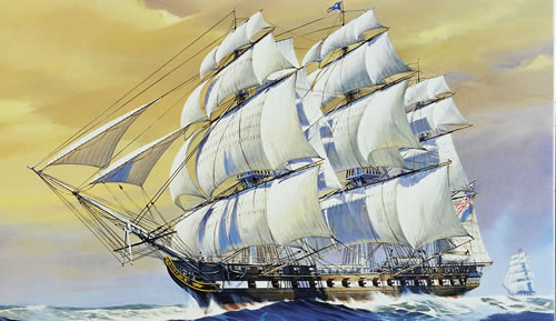 USS Constitution Clipper Ship #RMX5404