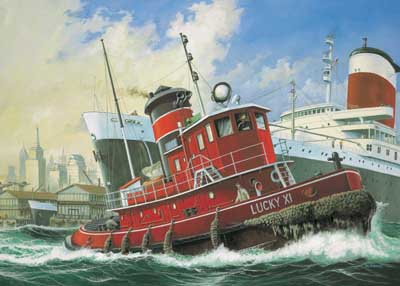 Harbour Tug Boat #RVL5207
