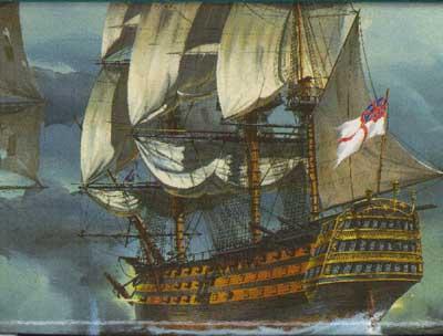 HMS Victory Sailing Ship #RVL5408