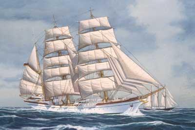 Gorch Fock Sailing Ship #RVL5412