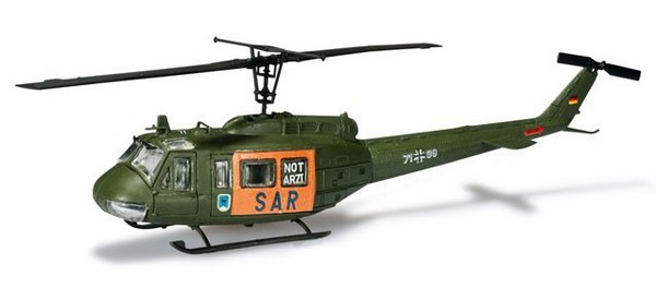 Bell UH1D SAR Helicopter (Kit) #HER744423