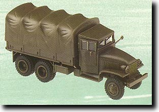 GMC CCKW 353 2.5-Ton Truck (WW II Olive Green) #HER553