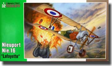 Nieuport Nie16 Lafayete Bi-Plane Fighter #SHY32030