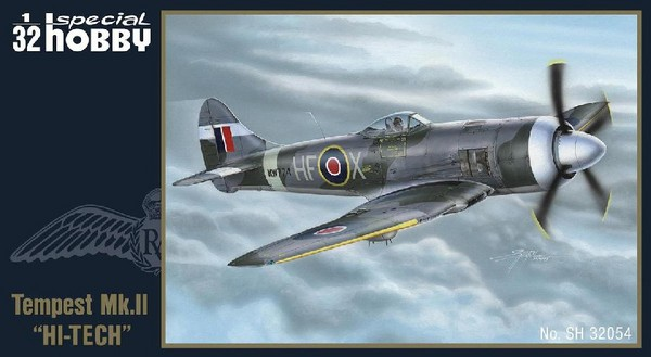 Hawker Tempest Mk II Fighter High Tech #SHY32054