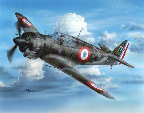 Bloch MB152C1 Early Version Fighter #SHY32063