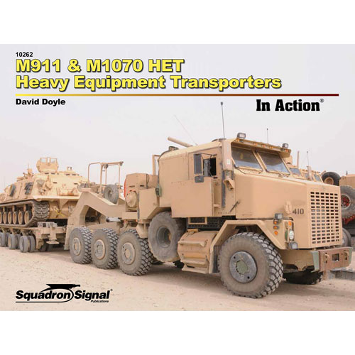 M911 & M1070 Heavy Equipment Transporters in Action #SQU10262