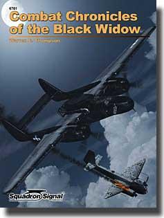 Combat Chronicles of the Black Widow (P-61)- Net Pricing #SQU6701