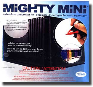 Mighty Mini Airbrush and Compressor Kit #TES9169