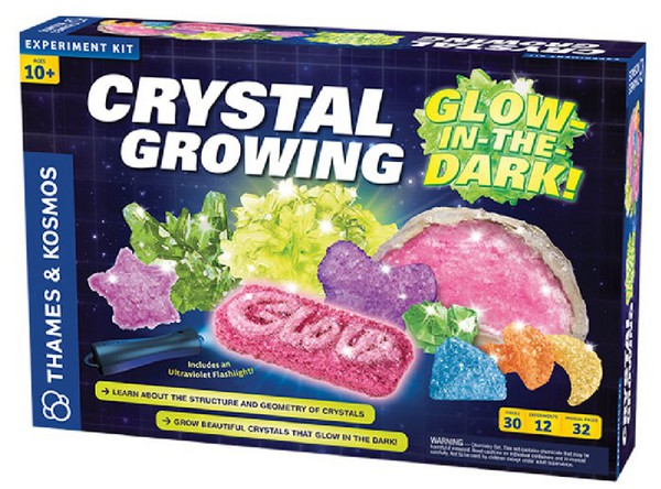 Crystals Growing Glow-in-tHe.Dark Experiment Kit - Pre-Order Item #THK643525